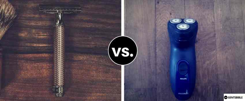 Zur richtigen Rasur Nass- oder Trockenrasierer verwenden