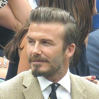 Dieser Bart von Beckham steht dir bei einem quadratischen Gesicht