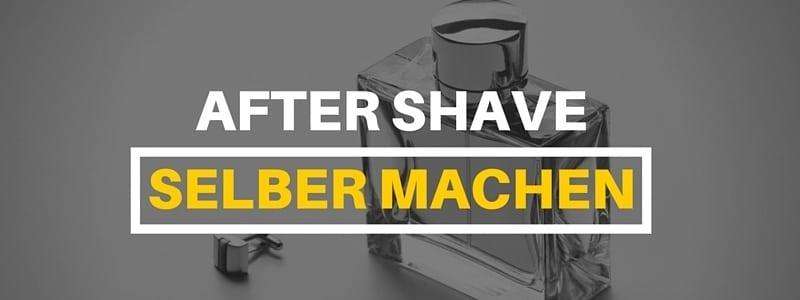 DIY Aftershave