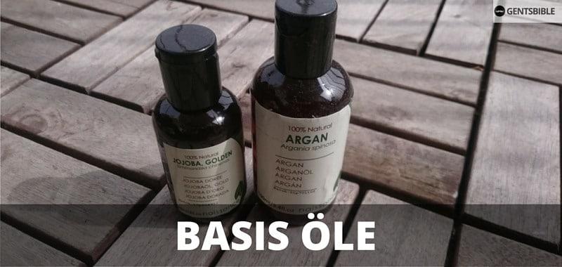 Argan- und Jojobaöl