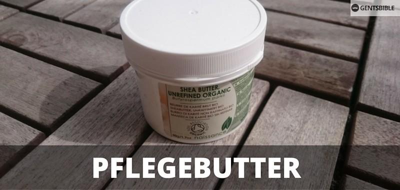 Shea-Butter für Balsam Konsistenz