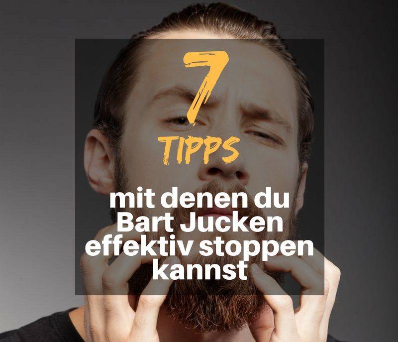 7 Tipps gegen Bart Jucken