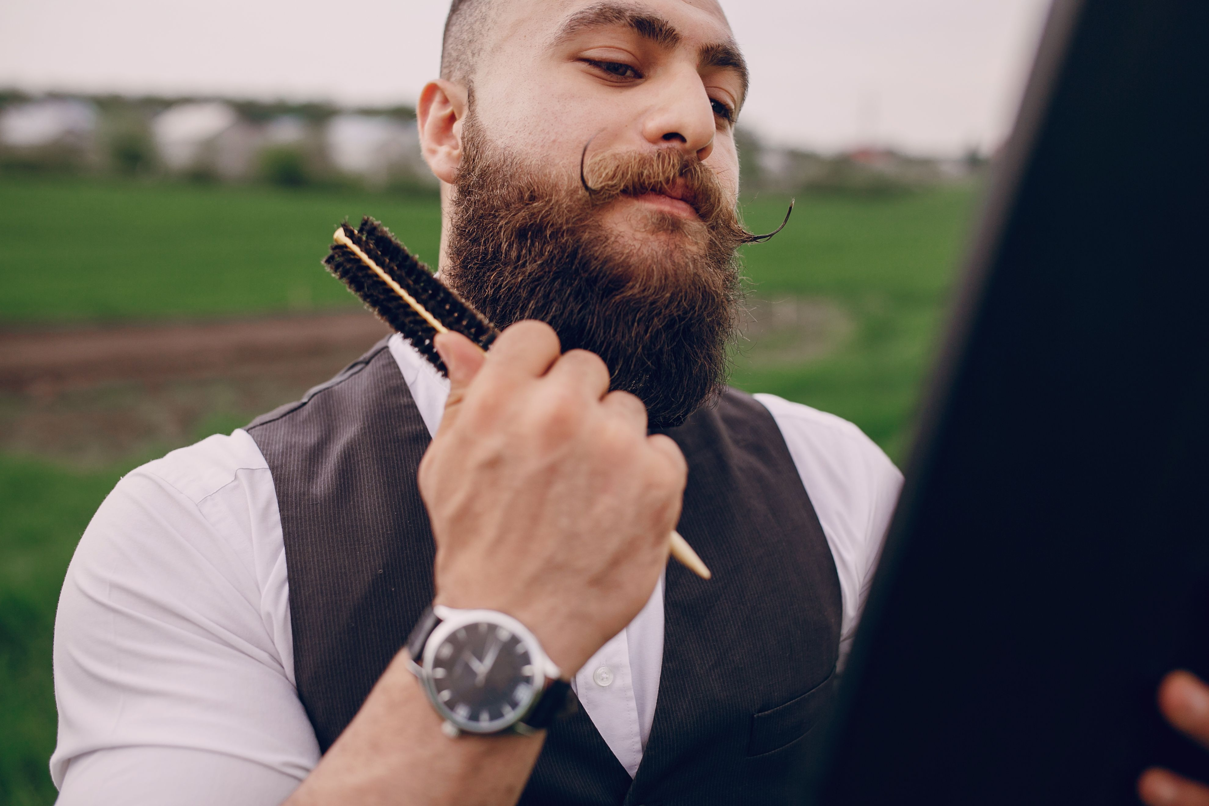 Weiter nicht bart wächst Bart wächst