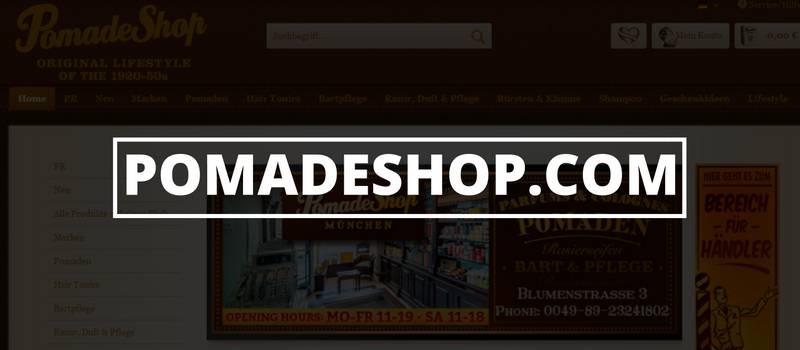 Onlinestore für (Bart)Haarpomade