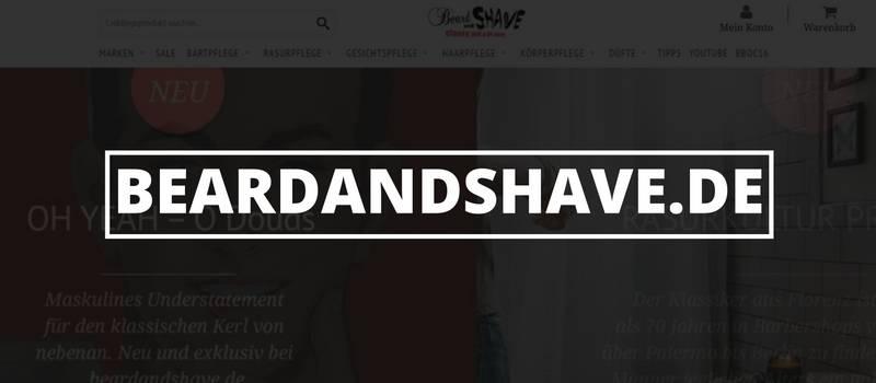 Bart und Rasurprodukte bei beardandshave