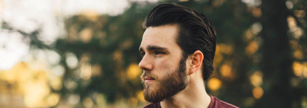 Frisuren mit Bart