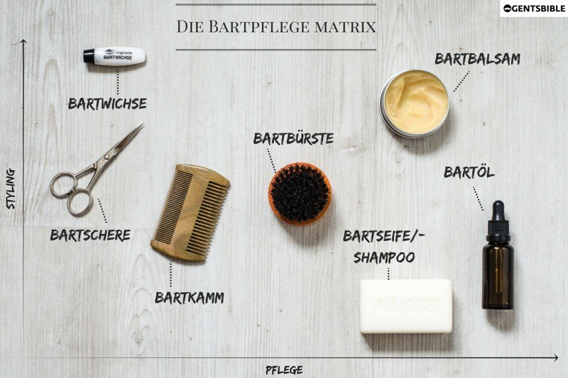 Gentsbible Bartpflege Matrix