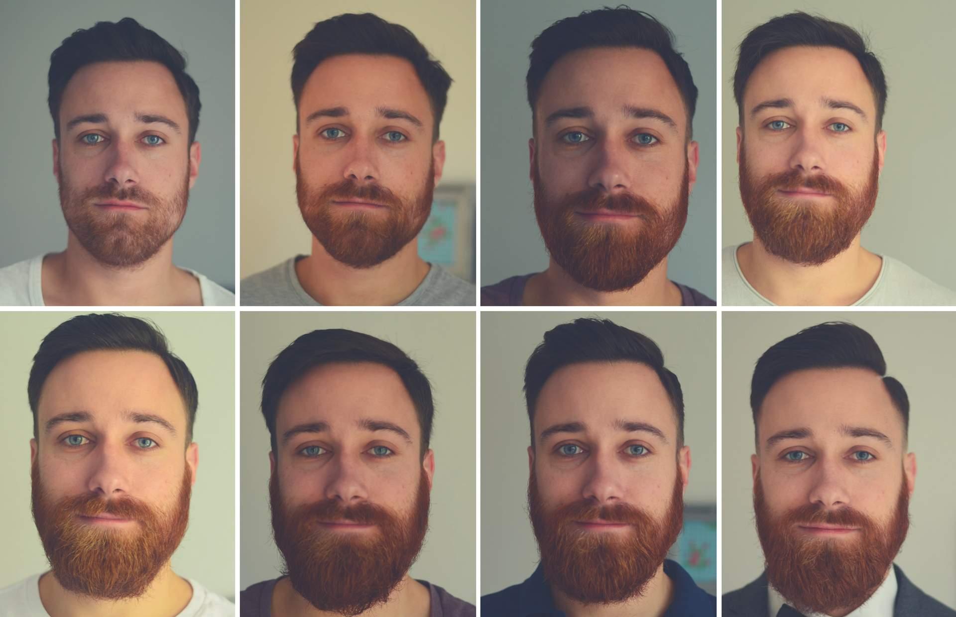 Bart Collage aus allen Wochen