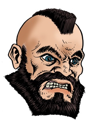 Zangief aus Street Fighter II