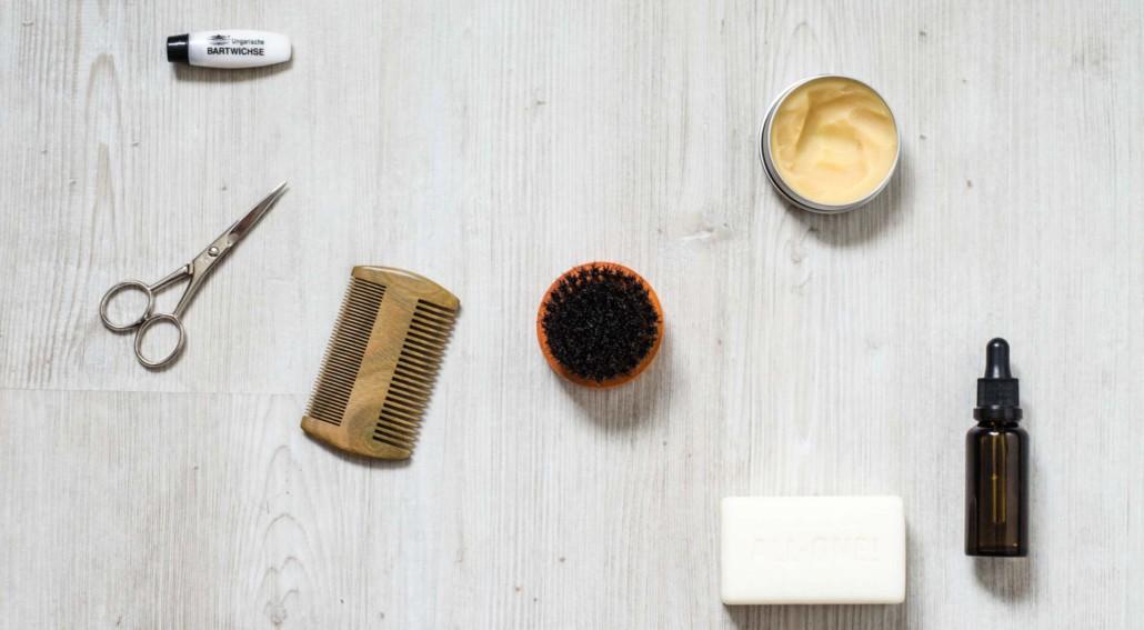 bartpflege utensilien