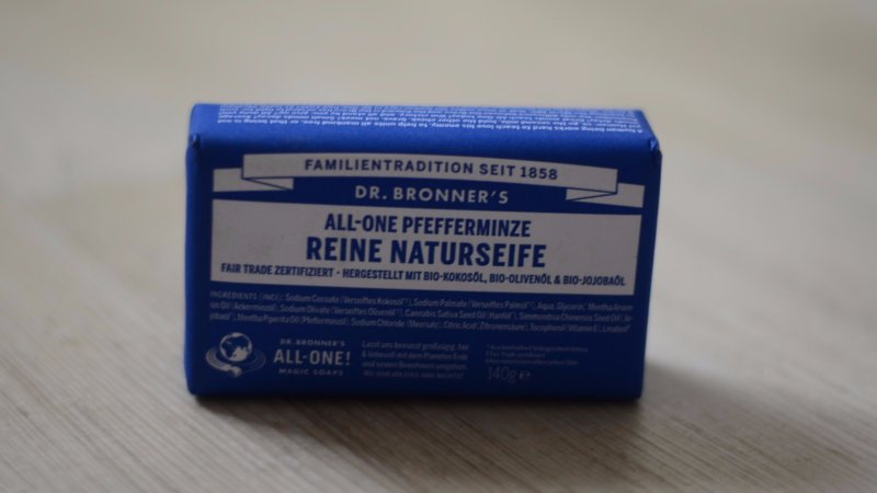 Magic Soap Dr. Bronner für Vollbart